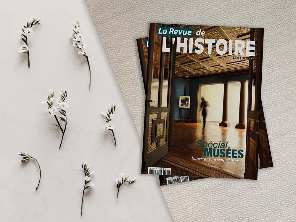 magazine La revue de l'histoire direction artistique