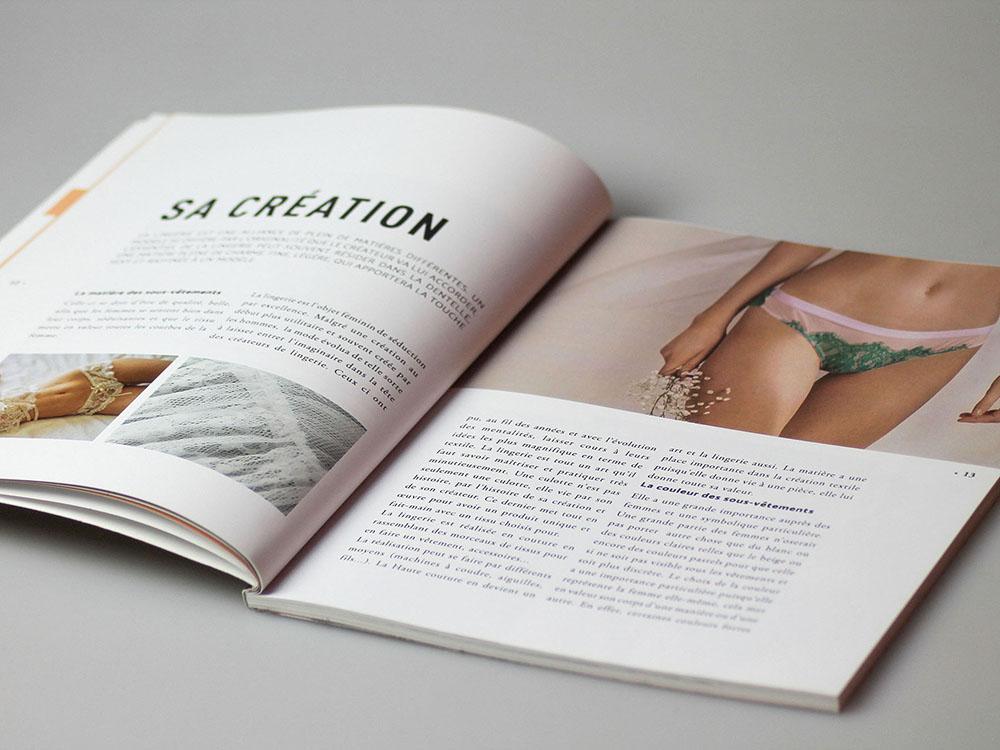 Mémoire lingerie edition