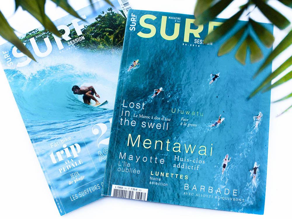Magazine Surf session édition