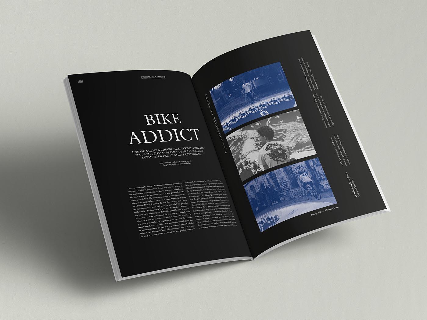 Magazine Trame direction artistique