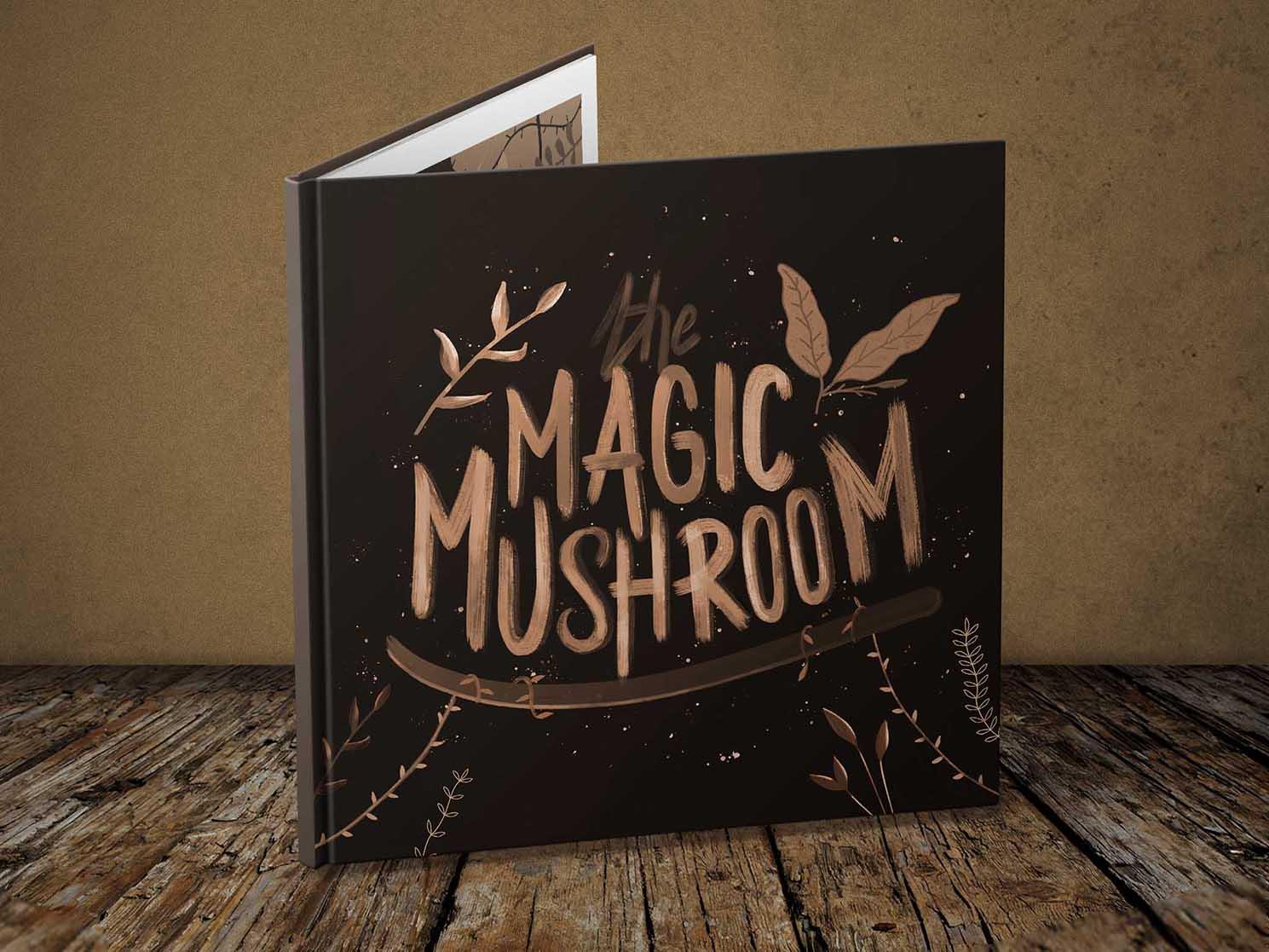Livre illustration Mushroom